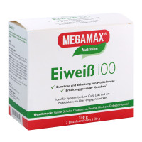 MEGAMAX (МЕГАМАКС) Nutrition Eiweiss 100 Kombipackung 7X30 г